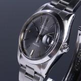 Vintage Rolex 'Oysterdate Precision' men's watch, steel, grey dial, c. 1980