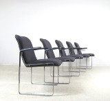 Preben Fabricius, set of chairs for Arnold Exclusive (5)