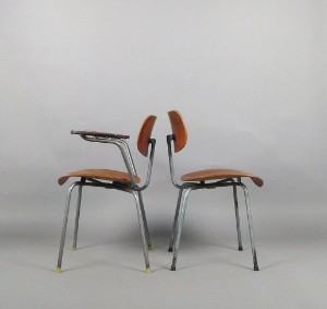 Egon Eiermann Stuhl Armlehnstuhl Modell Se 68 Für Wilde Spith