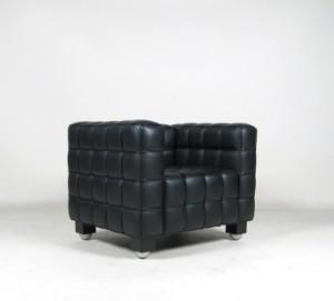 josef hoffmann sessel kubus von wittmann ausstellungsst ck. Black Bedroom Furniture Sets. Home Design Ideas