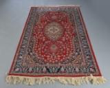 Keshan tæppe, uld på bomuld, 190x124 cm.