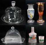 Samling glas, 1800/1900-tal 5 delar (5)