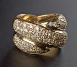 Brilliant-cut diamond ring, approx. 2.65 ct.