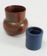 Eva Stæhr-Nielsen m.fl. for Saxbo vase og bægre af stentøj (2)