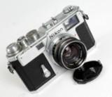 Nikon S3 kamera med 50 mm. objektiv