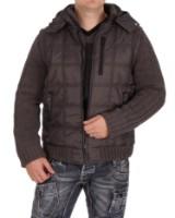 Vinterjakke til mænd med strikærmer, Model LIST. (18)