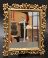 Spegel, rokokostil
