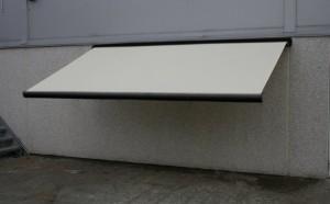 slutpris f r hvid markise 6 meter lukket. Black Bedroom Furniture Sets. Home Design Ideas