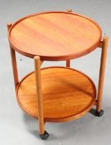 Bakkebord af teaktræ