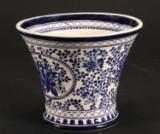Stor Aluminia Erimitage vase/urtepotteskjuler.