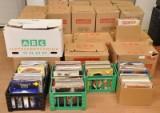 Pladesamling/vinylsamling, i alt ca. 4500 stk.