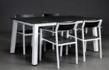Havemøbelsæt, aluminium og polywood (5)