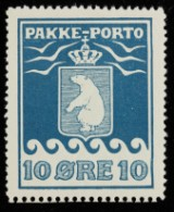Greenland, Facit: P3 IIC2 with later perforated lower edge, fine example. Certificate from Lasse Nielsen and Møller
