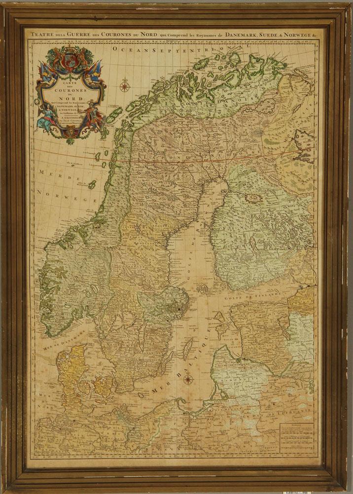 kort over norden