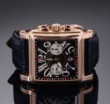 Franck Muller 'Cortez King 10000 K CC Conquistador', men's wristwatch in 18 kt. gold