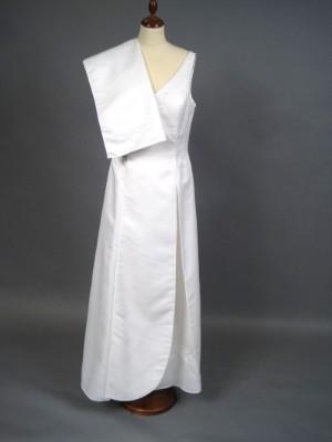 2c67dbc54f7 Panty Line brudekjole str. S. med tilhørende tørklæde 2 Denne vare er sat  til