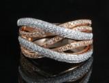 18kt diamond ring approx. 1.07ct