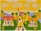 Knud Erik Færgemann 1925-2003. Litografi, cd
