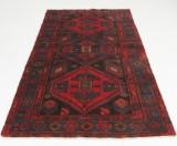 Persisk handknuten matta Zanjan mått 226x125