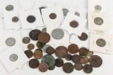 Samling danske skillingsmønter (45)