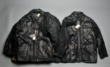 Jacks, otte læderjakker, herremodel, str. M, L og XL (8)