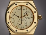 Audemars Piguet 'Royal Oak Dual Time'. Herreur i 18 kt. guld