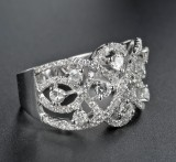 Brilliant-cut diamond ring approx. 1.48 ct.