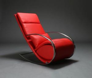 modernes design schaukelstuhl mit hocker modell temparance. Black Bedroom Furniture Sets. Home Design Ideas