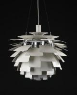 Poul Henningsen. PH Artichoke, pendant lamp, Ø 60 cm, white
