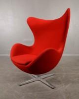 Arne Jacobsen, fåtölj, modellnr 3316 'Ägget'