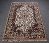 Indisk tæppe. 240 x 160 cm.