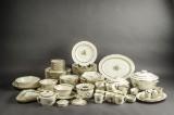 Kgl. Porcelæn.  Dele til spise- og kaffestel 'Fensmark' (90)