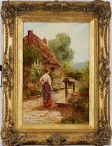 Ernest Walburn oljemålning