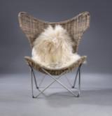 Knud Vinther, Batchair.dk Wings lænestol i kubu gray rattan.