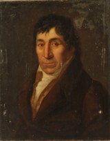 Ubekendt kunstner. Portræt, 1800-tallet. Olie på lærred