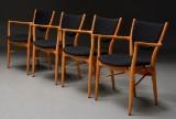 Finn Juhl. A set of four armchairs, model BO 72 (4)