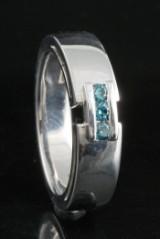 18kt. diamond ring approx. 0.15ct