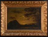 Oidentifierad konstnär, landskap i skymning