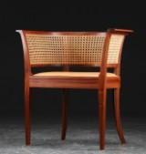 Kaare Klint. 'Faaborg Chair', mahogany