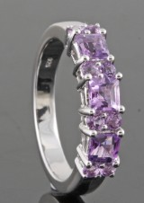Ametyst ring, 0.91ct.