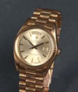 Rolex. Men's watch, model 'Day-Date', ref. 1803 on President bracelet