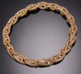 Gübelin. A diamond necklace, approx. 3.40 ct, 18 kt gold