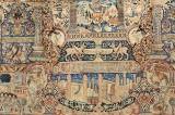 Oriental carpet. Figural Kashmar, Northeast Persia, 400 x 300