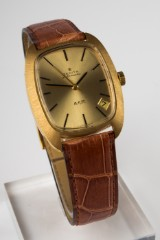 A Zenith AF/P Automatic gentlemen's watch, 750 gold