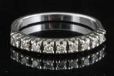 18kt. diamond ring approx. 0.30ct.