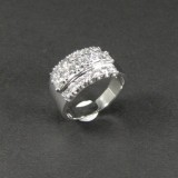 White gold diamond ring, approx. 1.90 ct.