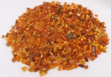 Danish amber collection, partially polished. Weight 1,240 g