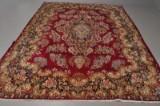 Kerman Lwar, persisk ægte tæppe, 420 x 290