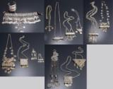 En samling orientalske smykker fra Turkmenistan, Rusland, Tyrkiet, Grækenland m.m. (15)