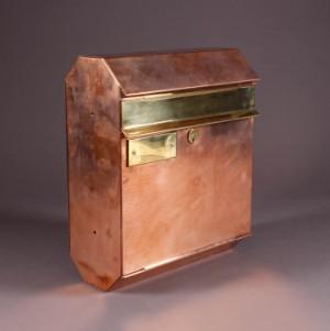 Fantastisk Postkasse, håndlavet i messing og kobber | Lauritz.com XG42